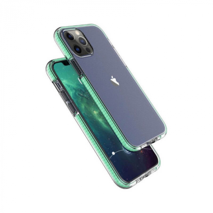 Husa Iphone 12Pro Verde Antisoc Hey 0