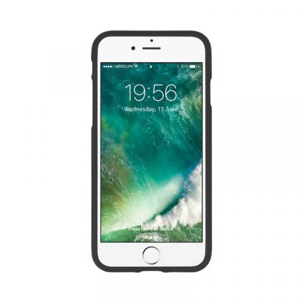 Husa iPhone 6 6S Carcasa Spate Mercury Jelly Soft TPU Rezistent Flexibil Negru 1