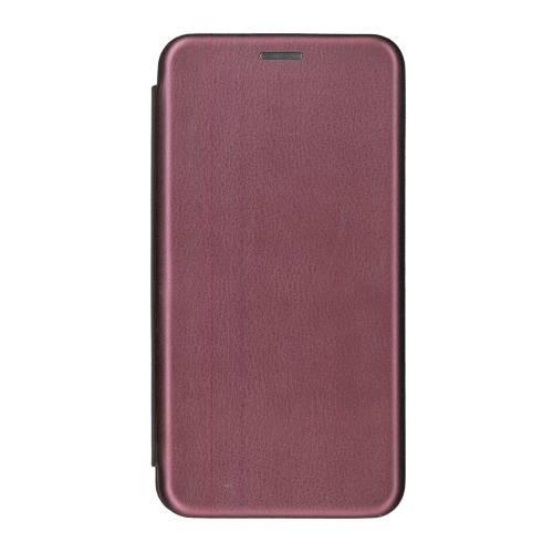 Husa iPhone 6 Plus Tip Carte Flip Cover din Piele Ecologica Portofel Mov cu Inchidere Magnetica (Purple)