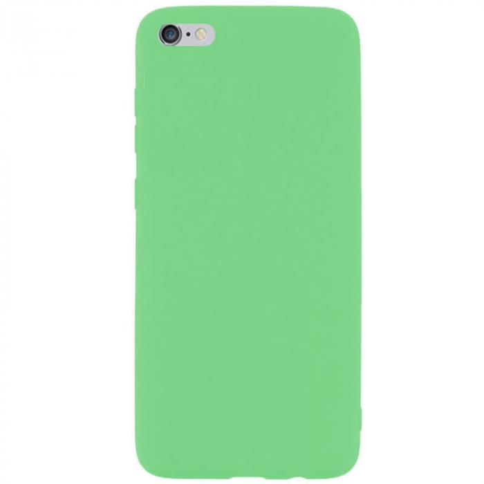 Husa iPhone 6 Plus Verde Silicon Slim protectie Premium Carcasa [0]