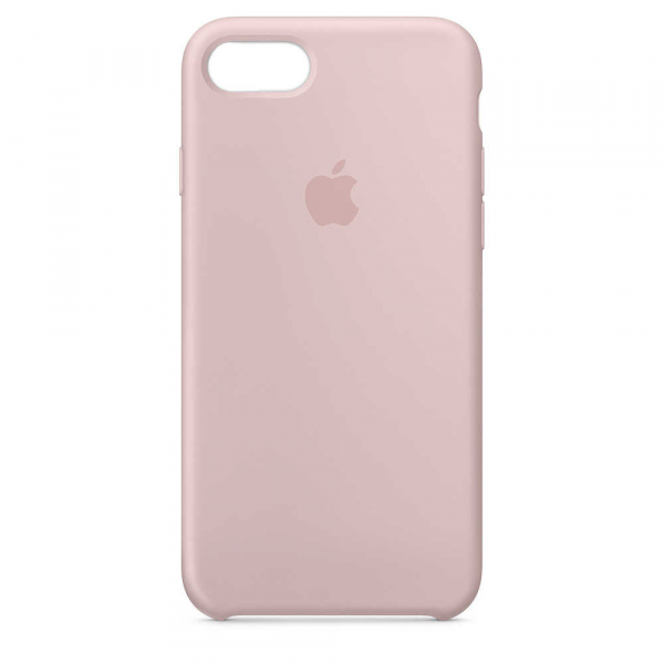Husa iPhone 7 / 8 Roz Carcasa Silicon Premium Slim Logo 0