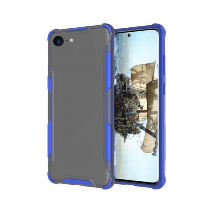 Husa iPhone 7 Antisoc Albastru 0