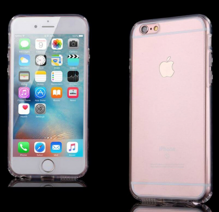 Husa iPhone 7 Full Cover 360 Grade Transparenta 4
