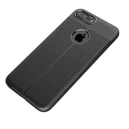 Husa iPhone 7 Plus Silicon TPU Colorat Negru-Autofocus Black 1