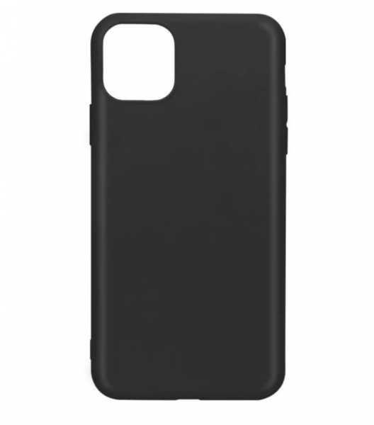 "Husa iPhone 11 Pro 2019 - 5.8 "" Negru Carcasa Spate Silicon Premium Slim 0"