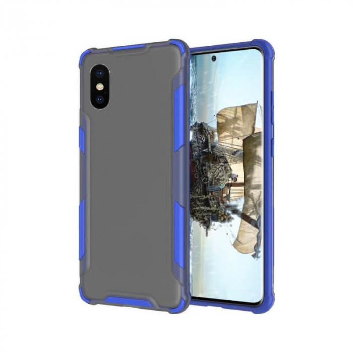 Husa iPhone X Antisoc Albastru 0