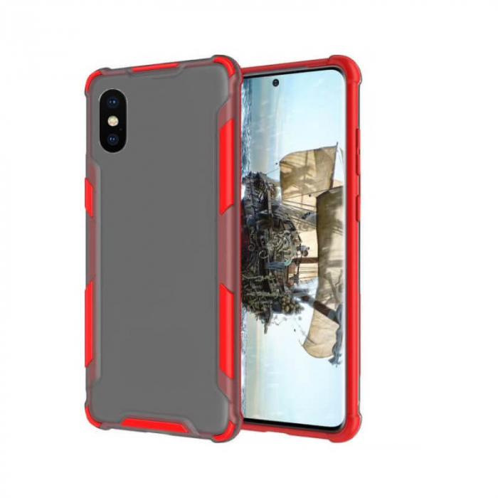 Husa iPhone X Antisoc Rosu 0