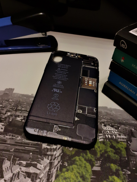 Husa iPhone X / iPhone XS Silicon Premium 0