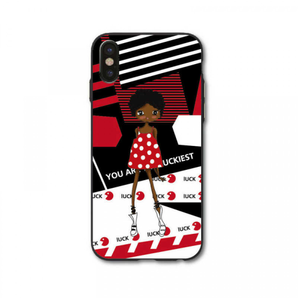 Husa iPhone X Personalizata Girl 0