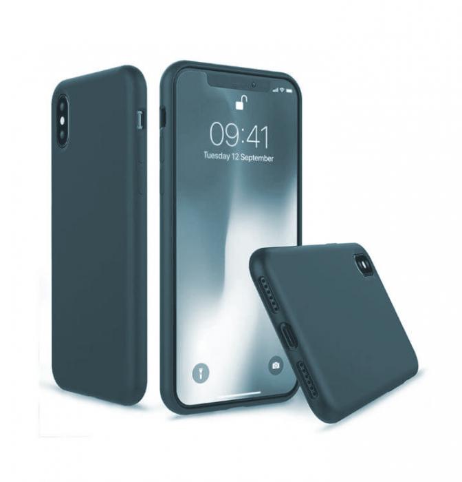 Husa iPhone XR Bleumarin Silicon Slim protectie Premium Carcasa 1