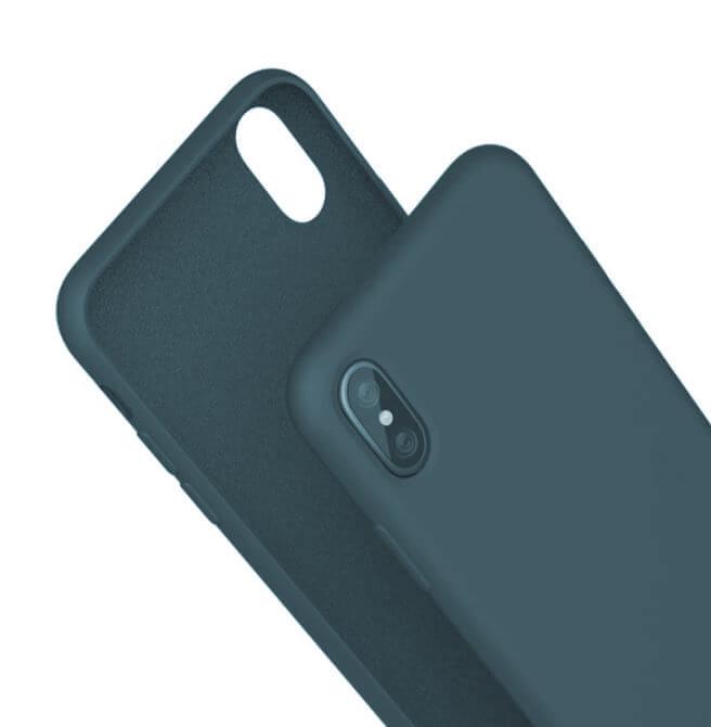 Husa iPhone XR Bleumarin Silicon Slim protectie Premium Carcasa 0