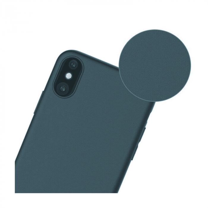 Husa iPhone XR Bleumarin Silicon Slim protectie Premium Carcasa 2