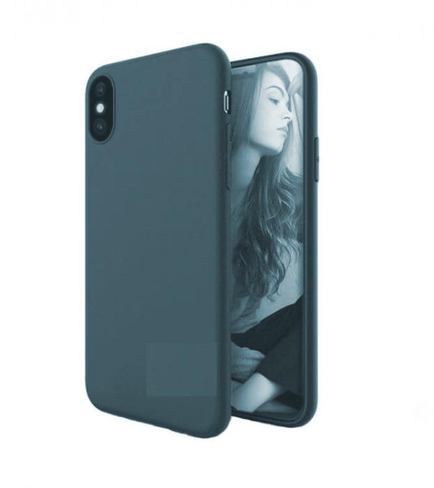 Husa iPhone XR Bleumarin Silicon Slim protectie Premium Carcasa 3