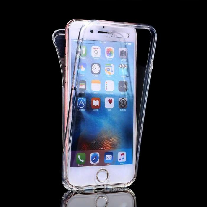 Husa iPhone XR Full Cover 360 Grade Transparenta 0