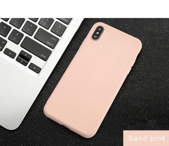 Husa iPhone XR Roz Silicon Slim protectie Premium Carcasa 3