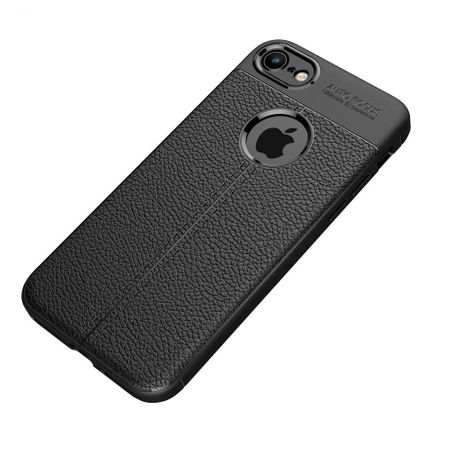 Husa iPhone Xr Silicon TPU Colorat Negru-Autofocus Black 1