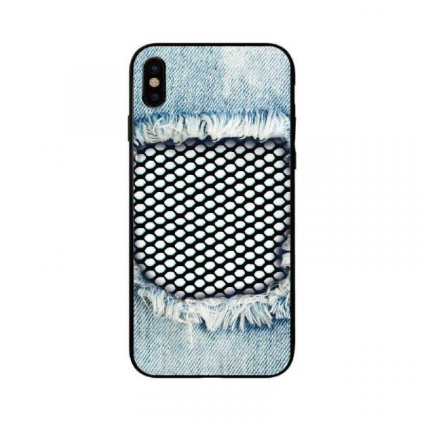 Husa iPhone XS Personalizata Jeans 0