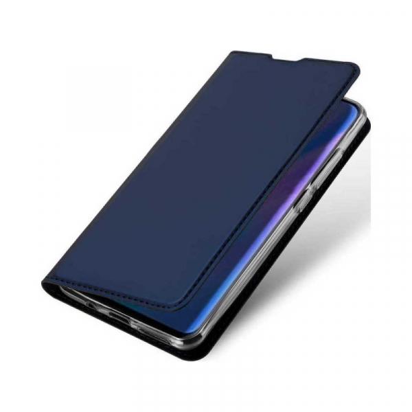 Husa Portofel Huawei P30 Lite 2019 Piele Eco Premium  DuxDucis - Bleumarin Dark Blue 1