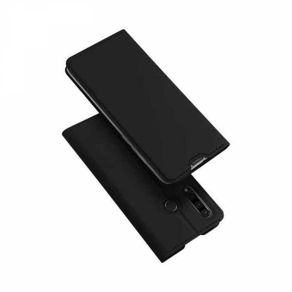 husa-portofel-huawei-p30-lite-2019-toc-portofel-carte-flip-piele-eco-negru-premium-duxducis 0