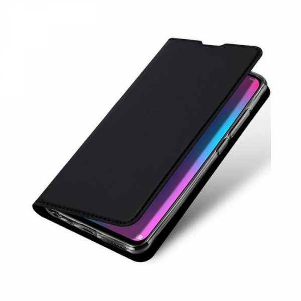 Husa Portofel Huawei Y6 2019 Piele Eco Premium  DuxDucis - Negru Black [3]