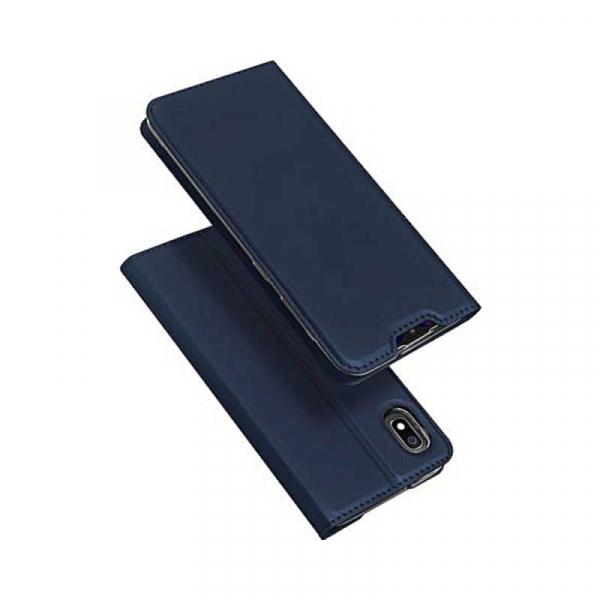 Husa Samsung Galaxy A10 2019 Bleumarin Piele Eco Toc Tip Carte Portofel Premium DuxDucis 4