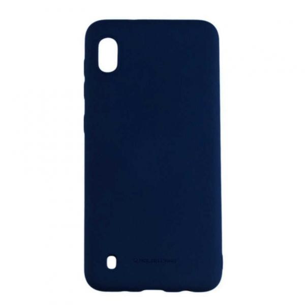 Husa Samsung Galaxy A10 2019 Silicon Mat Albastru Carcasa Molan Cano [0]