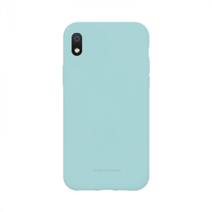 Husa Samsung Galaxy A10 2019 Turcoaz Carcasa Silicon Mat Molan Cano 0