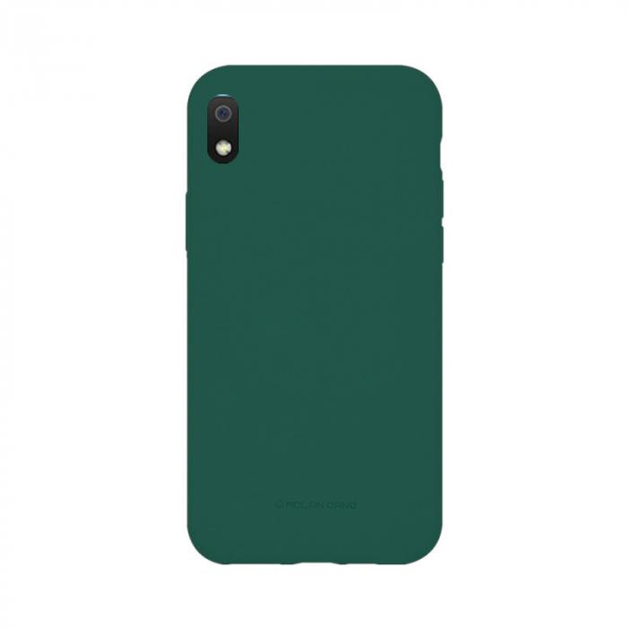 Husa Samsung Galaxy A10 2019 Verde Carcasa Silicon Mat Molan Cano [0]