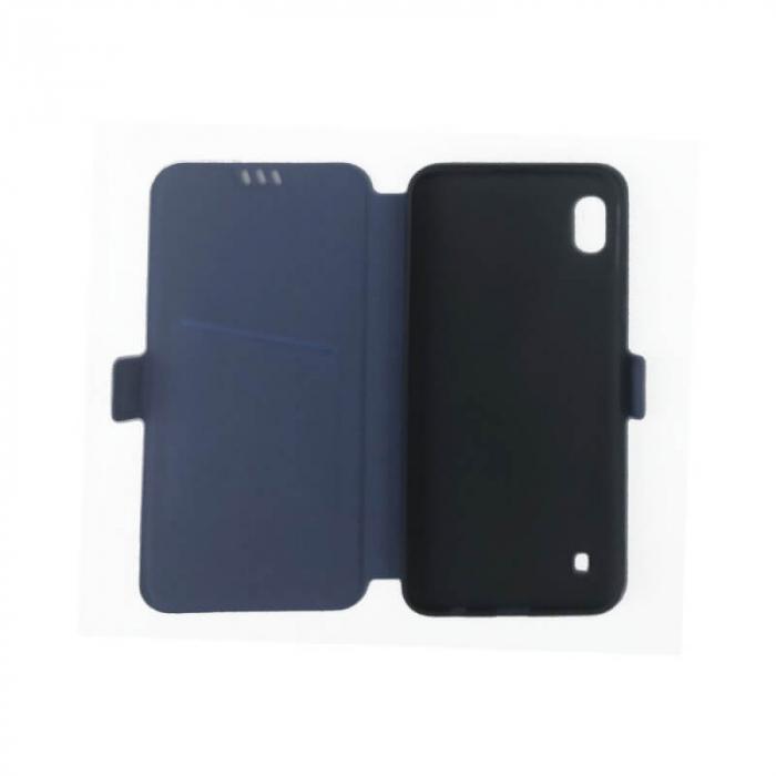 Husa Samsung Galaxy A10 Albastru Flip Cover Atlas Smart [1]