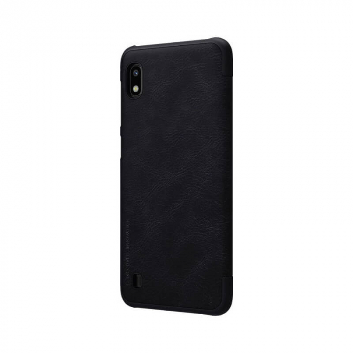Husa Flip Samsung Galaxy A10 Negru Tip Carte Magnetica Nillkin Qin [3]