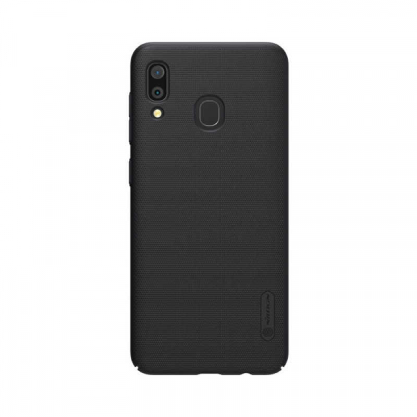 Husa Samsung Galaxy A20 2019 Carcasa Nillkin Frosted Negru Mat 0