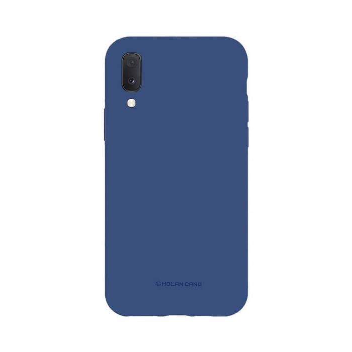 Husa Samsung Galaxy A20E Silicon Albastru Molan Cano 0