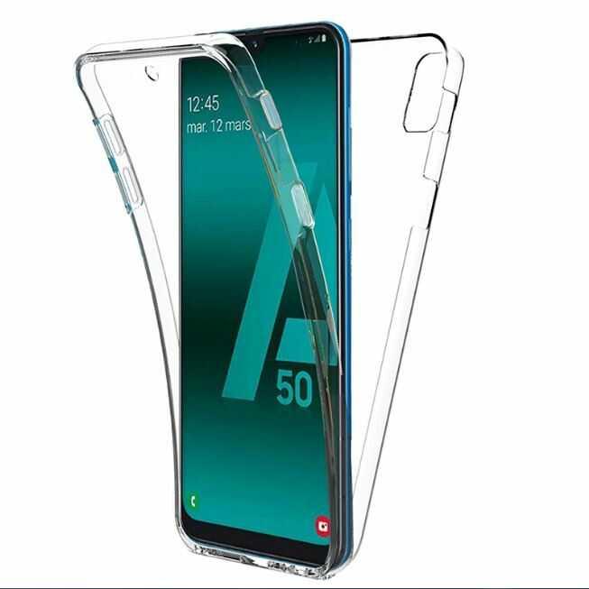 Husa Samsung Galaxy A20 E Full Cover 360 Grade Transparenta 0