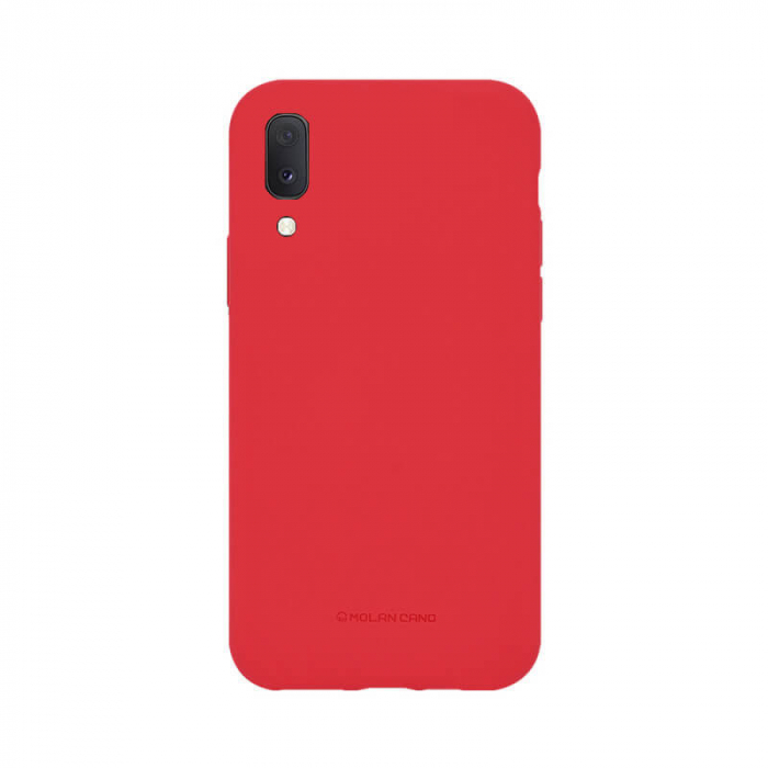 Husa Samsung Galaxy A20E Silicon Rosu Molan Cano 0