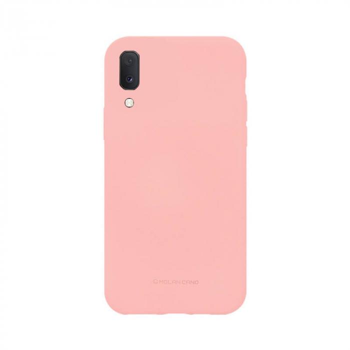 Husa Samsung Galaxy A20E Silicon Roz Molan Cano 0