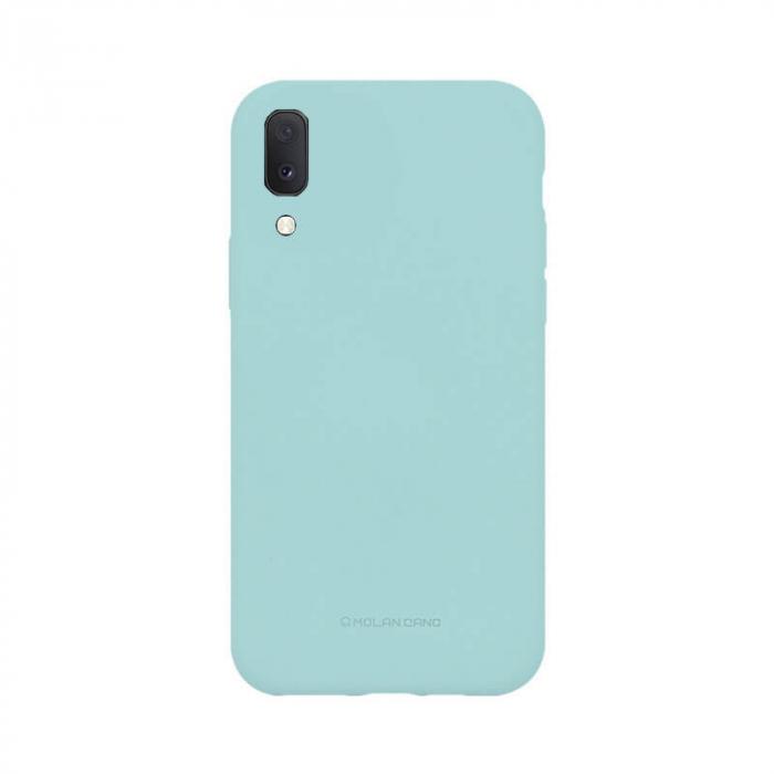 Husa Samsung Galaxy A20E Silicon Turcoaz Molan Cano 0