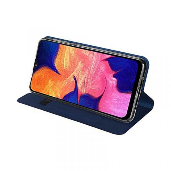 Husa Samsung Galaxy A20E 2019 Bleumarin Piele Eco Toc Tip Carte Portofel Premium DuxDucis [3]