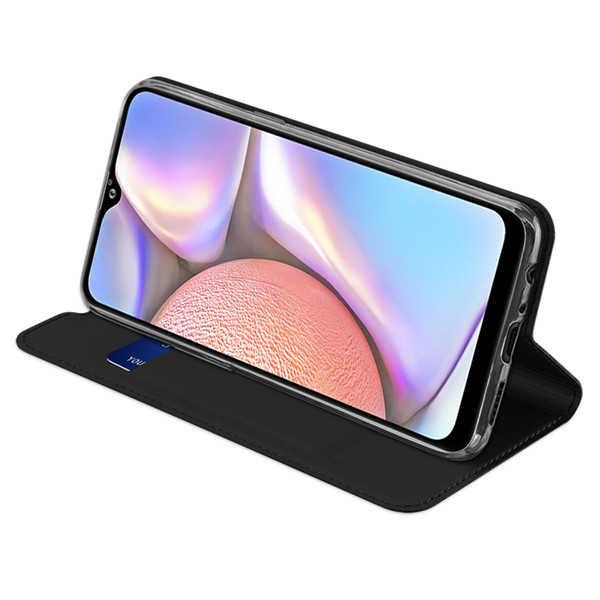 Husa Samsung Galaxy A20E 2019 Negru Piele Eco Toc Tip Carte Portofel Premium DuxDucis [3]
