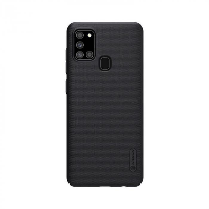 Husa Samsung Galaxy A21 S Negru Nillkin Frosted 0