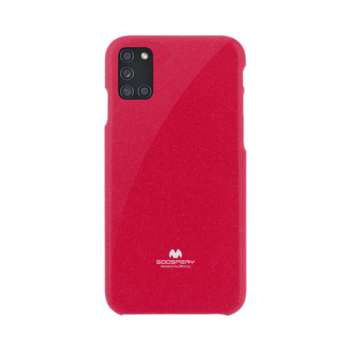 Husa Samsung Galaxy A21 S Rosu Mercury Jelly 0