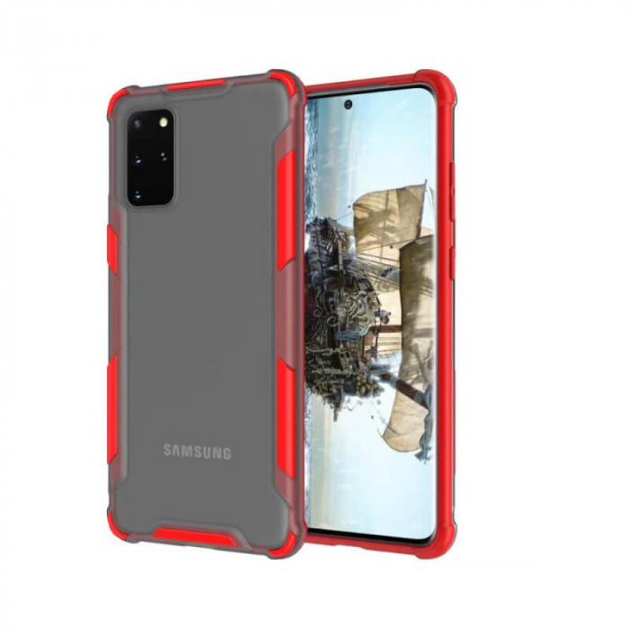 Husa Samsung Galaxy A21S Antisoc Rosu 0