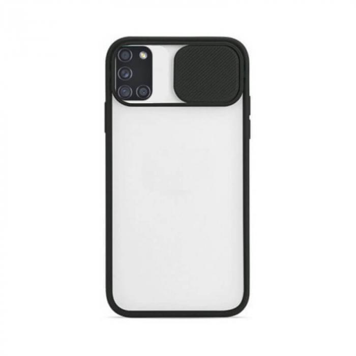 Husa Samsung Galaxy A21S Negru Carcasa Spate Antisoc Kia [0]