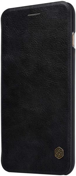 Husa Samsung Galaxy A40 2019 Negru Toc Flip Nillkin Qin Piele Eco Premium Tip Carte Portofel [5]