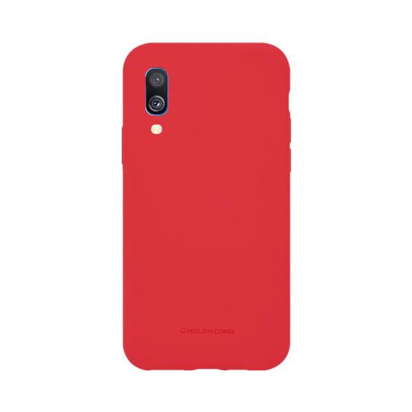 Husa Samsung Galaxy A40 2019 Rosu Carcasa Silicon Mat Molan Cano 0