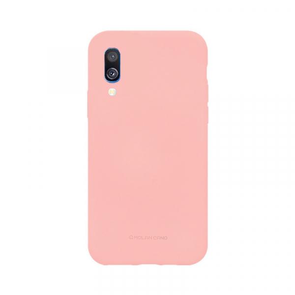 Husa Samsung Galaxy A40 2019 Roz Carcasa Silicon Mat Molan Cano [0]