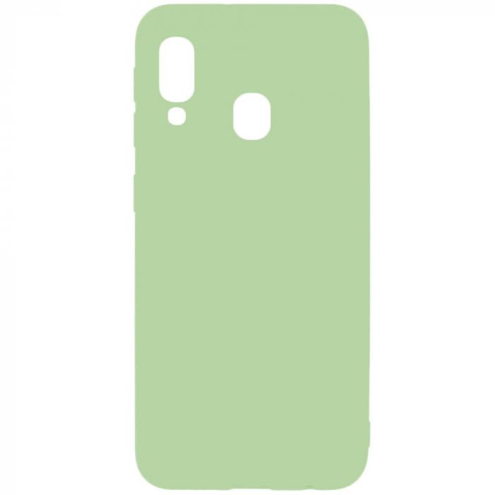 Husa Samsung Galaxy A40 2019 Verde Silicon Slim protectie Carcasa [0]