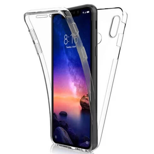 Husa Samsung Galaxy A20S Full Cover 360 Grade Transparenta 0