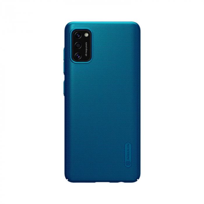 Husa Silicon Samsung Galaxy A41 Albastru Nillkin Frosted 0