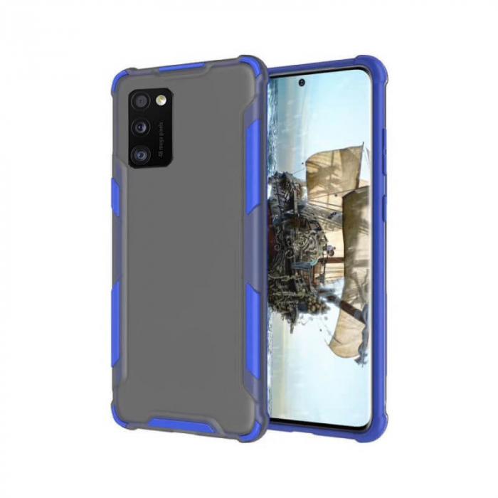 Husa Samsung Galaxy A41 Antisoc Albastru 0