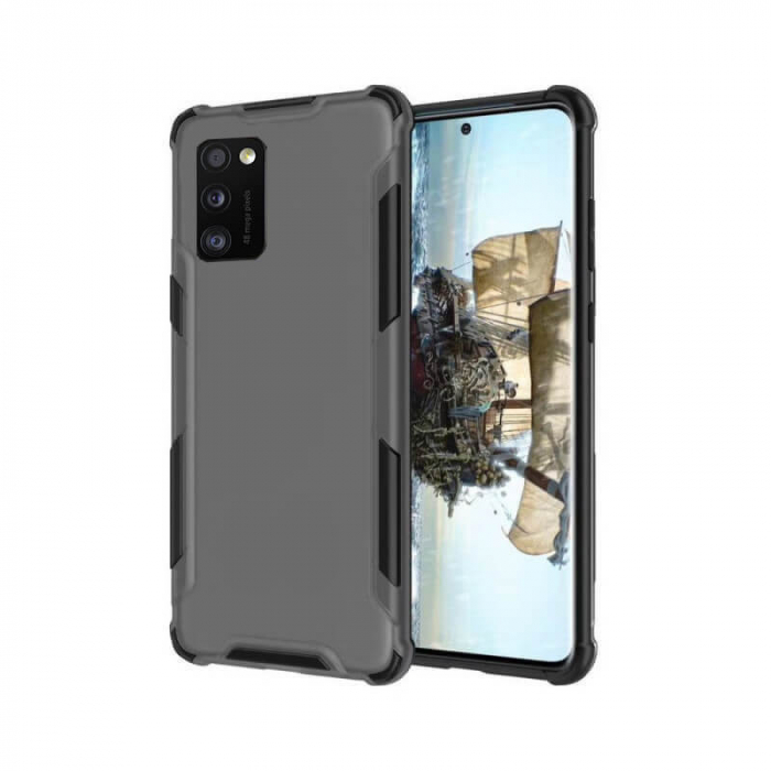 Husa Samsung Galaxy A41 Antisoc Negru 0